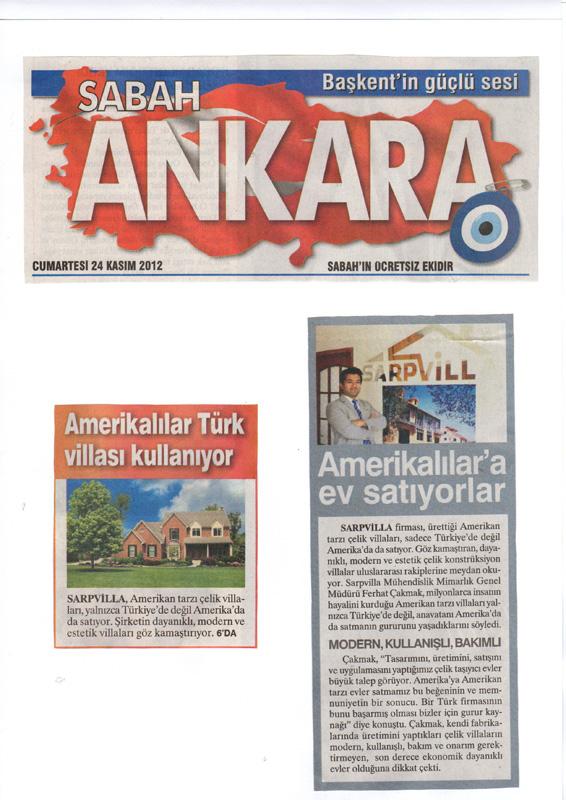 Amerikalılar türk villası kullanıyor